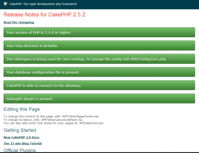 CakePHP 2.5.2