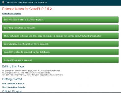 CakePHP 2.5.2